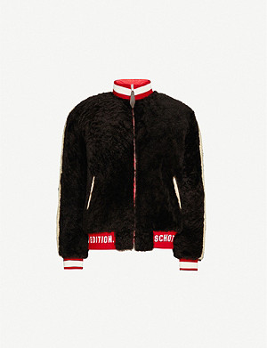 SCHOTT Teddy reversible shell-down jacket