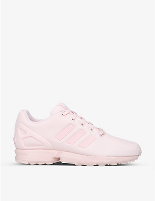 ADIDAS: ZX Flux trainers 4-14 years