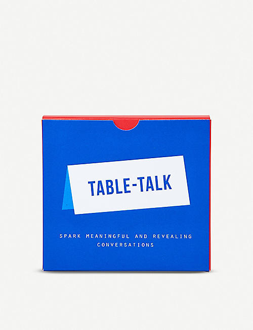 THE CONRAN SHOP: Table Talk Conversation Cards 9.5cm x 10.5cm
