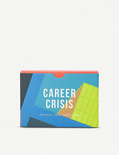 THE CONRAN SHOP The School of Life Career Crisis prompt cards 10.4cm x 7cm