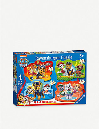 PAW PATROL: Ravensburger 4 in a box jigsaw puzzles