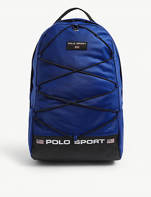 POLO RALPH LAUREN: Sport logo nylon backpack