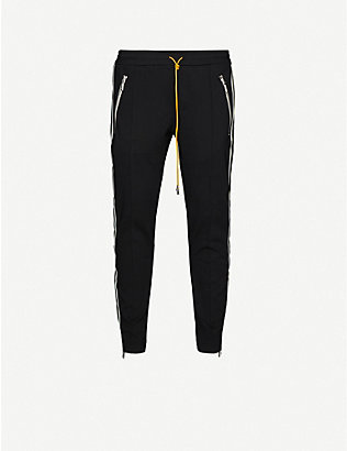 RHUDE: Traxedo slim-fit stretch-jersey trousers
