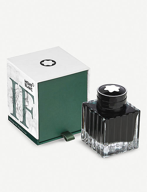 MONTBLANC: Writers Edition ink bottle jungle 50ml