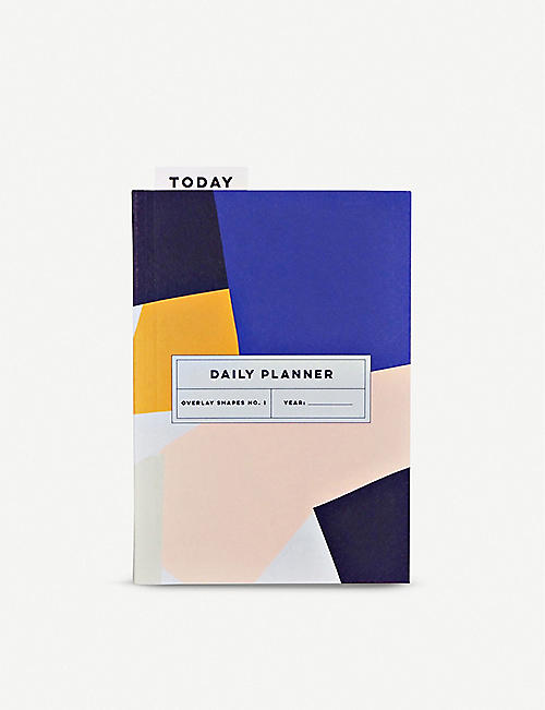 THE COMPLETIST: Overlay Shapes undated daily planner