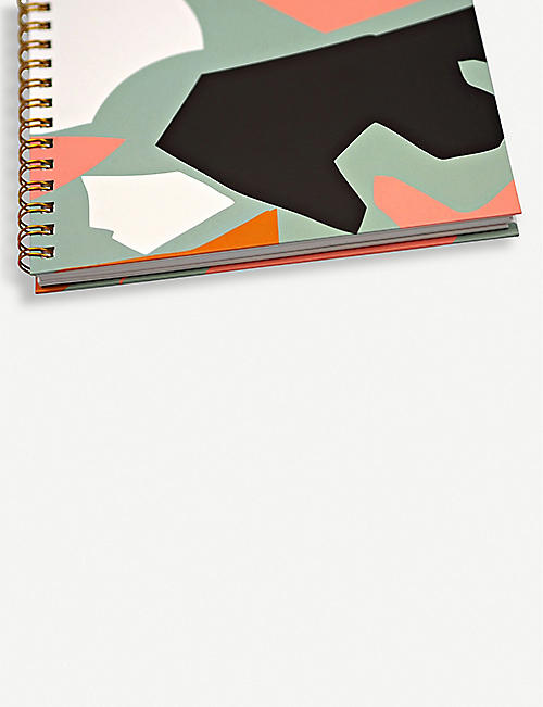 THE COMPLETIST Cut Out Shapes sketchbook 29.7cm x 21cm