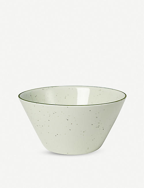 MANSES DESIGN: Ovanåker medium porcelain bowl 16cm