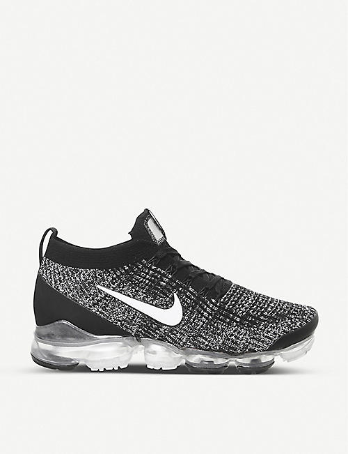 NIKE: Air VaporMax Flyknit 3 textile trainers