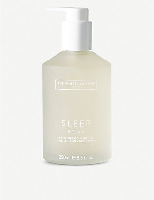 THE WHITE COMPANY: Sleep hand and body wash 250ml