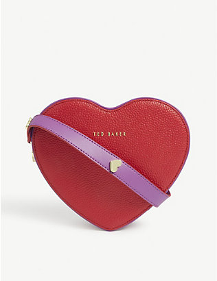TED BAKER: Loverr heart cross-body bag