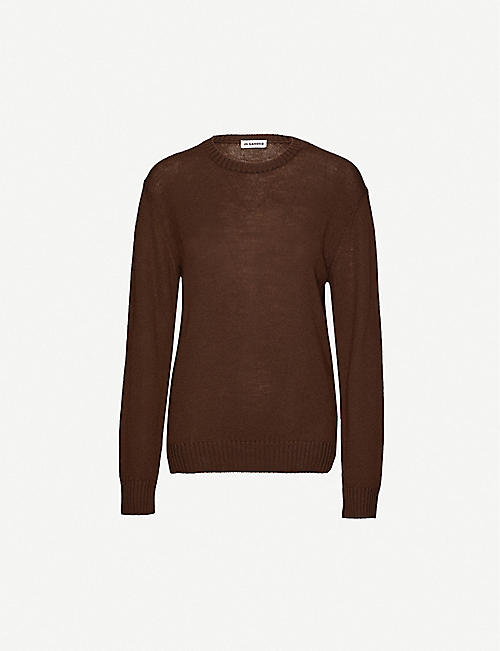 JIL SANDER Round-neck wool jumper