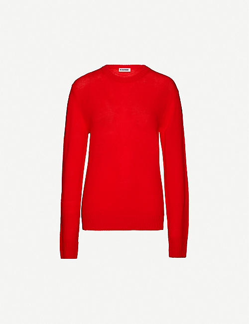 JIL SANDER: Round-neck wool jumper