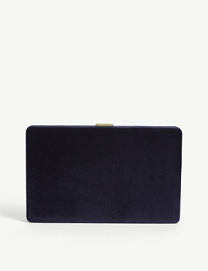 ANYA HINDMARCH Velvet clutch bag