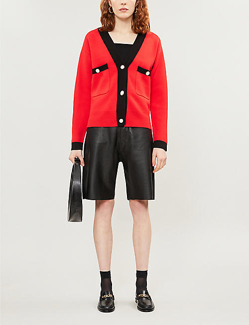 CLAUDIE PIERLOT Magdae knitted cardigan