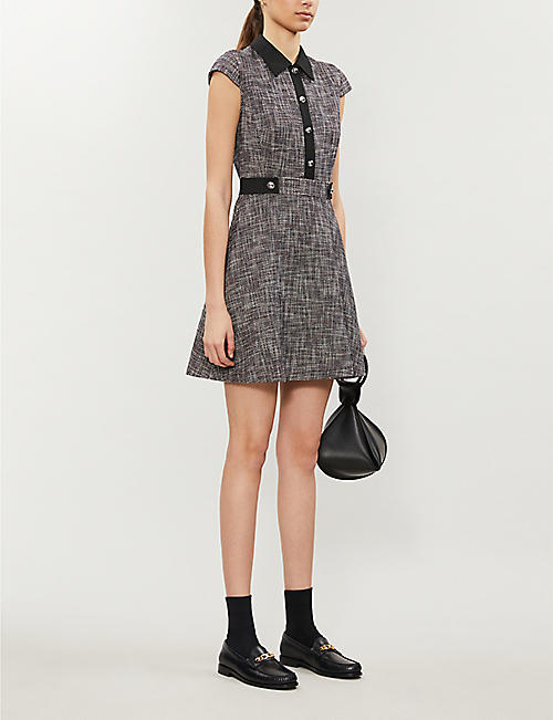 CLAUDIE PIERLOT Ready crepe mini dress