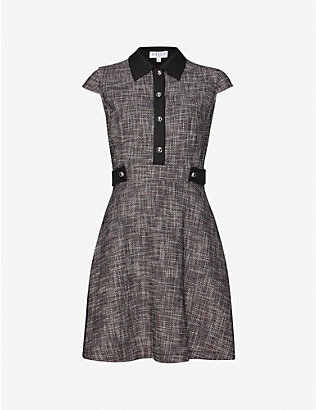 CLAUDIE PIERLOT: Ready crepe mini dress