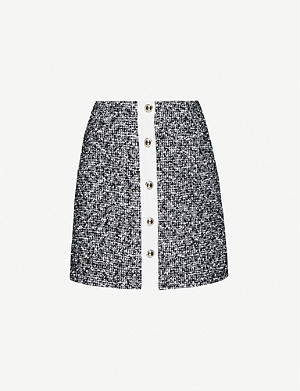 CLAUDIE PIERLOT Sasha tweed mini skirt