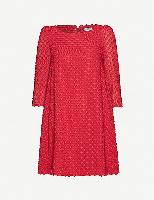CLAUDIE PIERLOT Rifin crepe midi dress