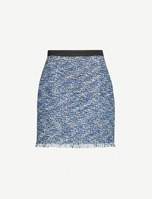 CLAUDIE PIERLOT Seasone tweed mini skirt