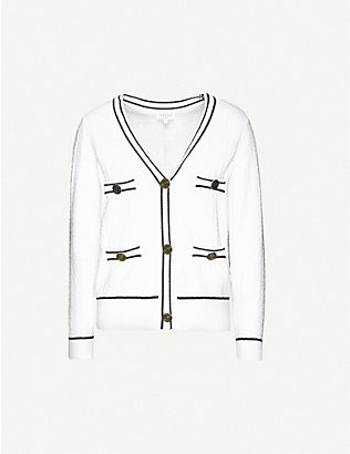 CLAUDIE PIERLOT: Minie knitted cardigan