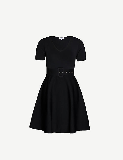 Details about Adidas Originals Dress Damen Mini Dress T Shirt Dress Polka Dots Dots