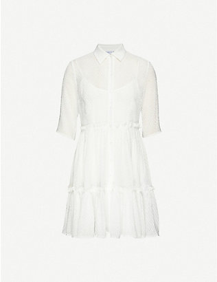 CLAUDIE PIERLOT: Randall crepe midi dress