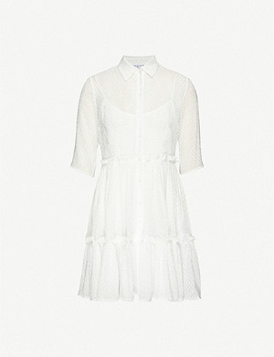CLAUDIE PIERLOT Randall crepe midi dress