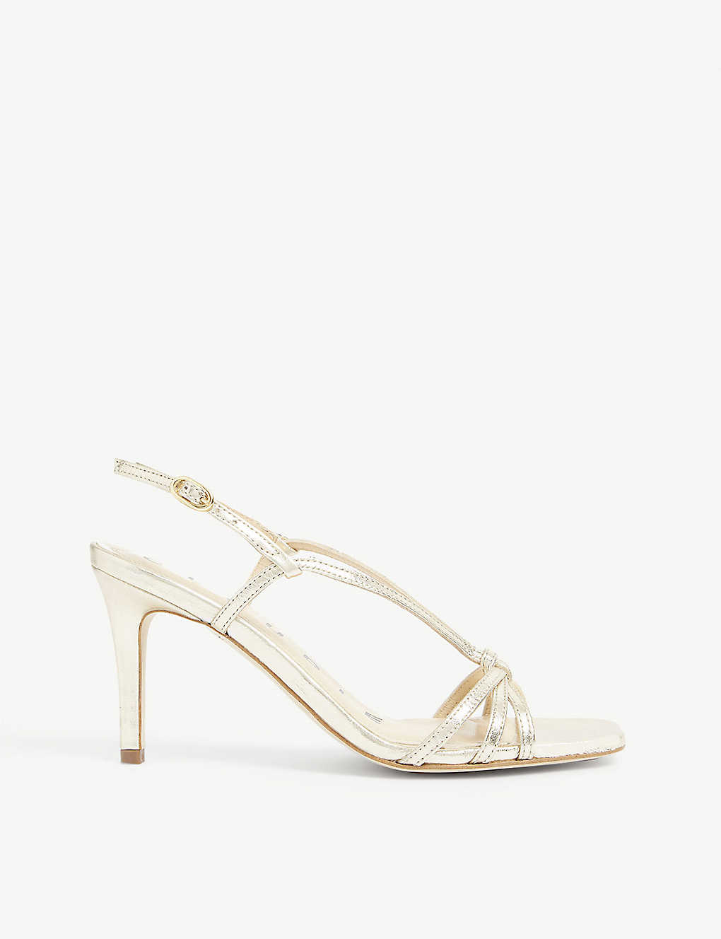 CLAUDIE PIERLOT: Strappy heeled leather sandals
