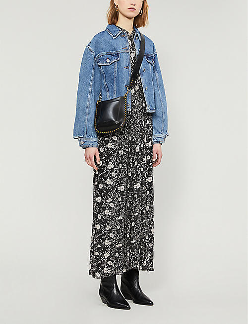 MAJE Bisou denim jacket