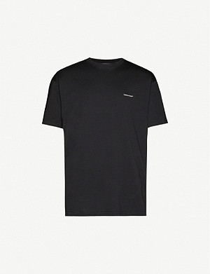 BALENCIAGA Copyright cotton-jersey logo T-shirt