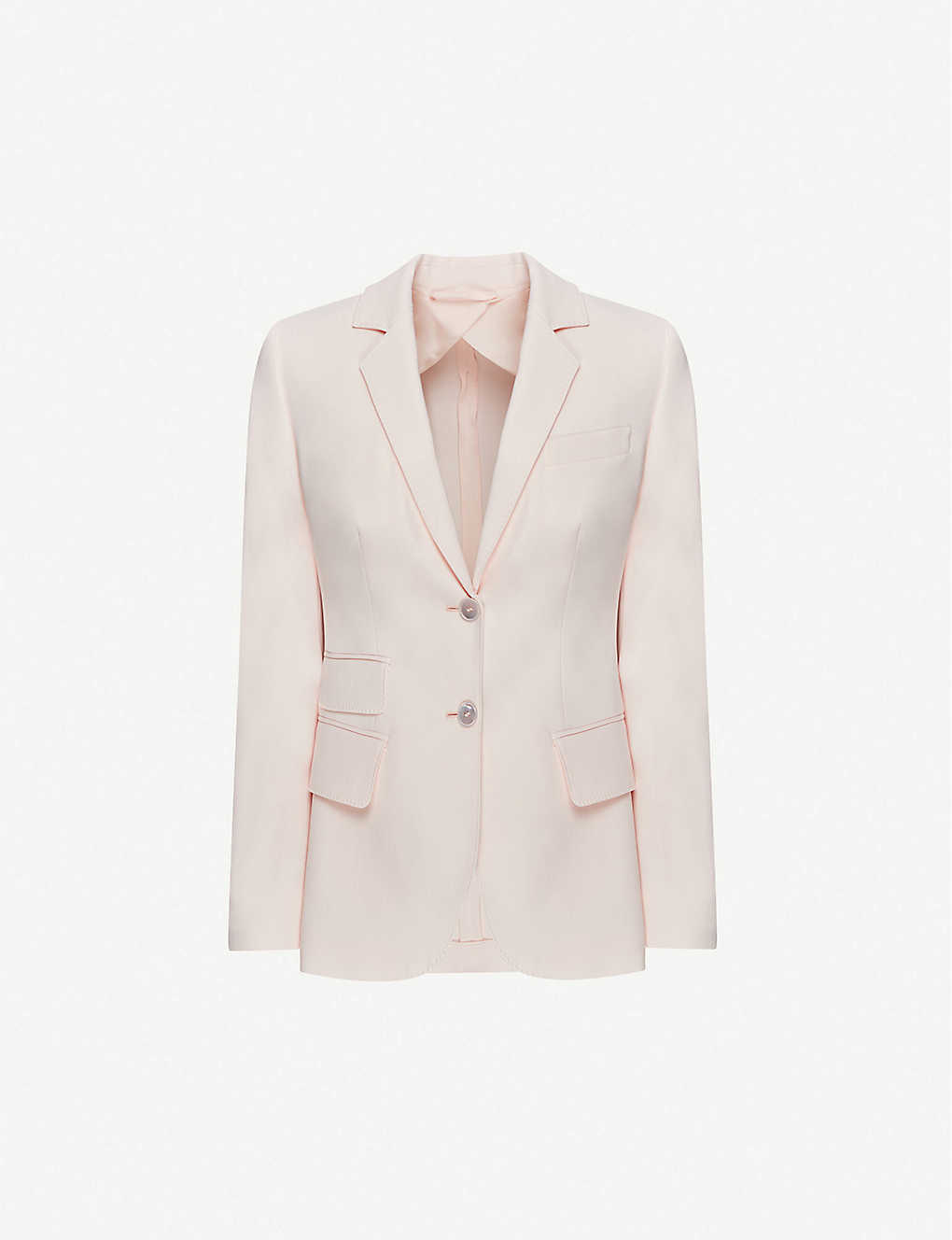 MAX MARA: Adele single-breasted cotton blazer