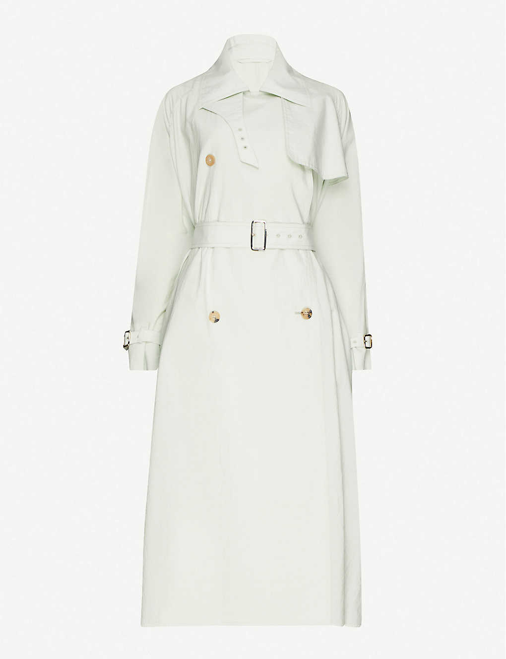 MAX MARA: Falster cotton-blend trench coat