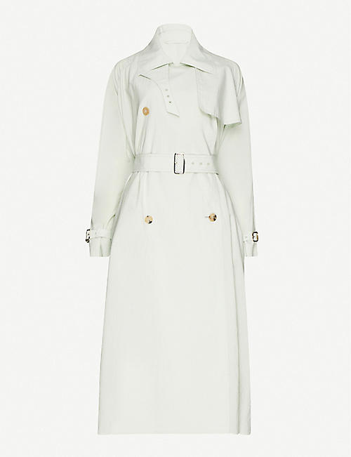 MAX MARA Falster cotton-blend trench coat