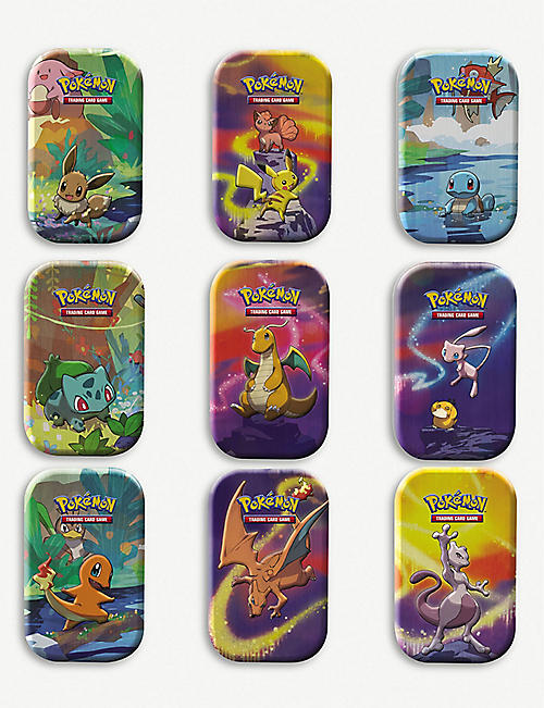 POKEMON: Pokémon Booster Pack Mini Tin assortment