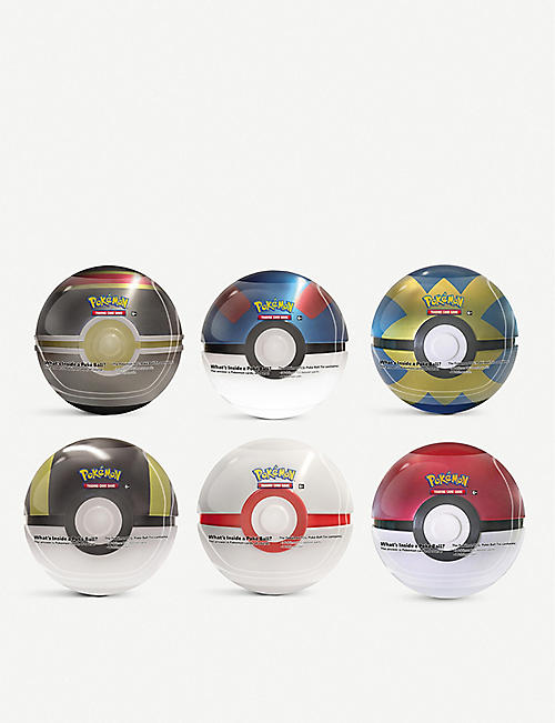 POKEMON: Poké Ball assorted tins