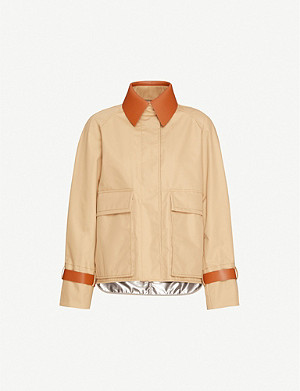 SPORTMAX Aeroso reversible shell jacket