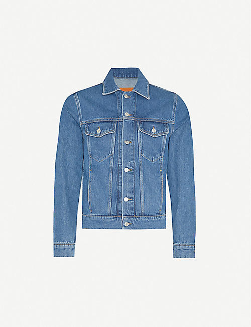 SANDRO: Regular-fit denim jacket