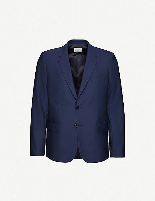 SANDRO: Regular-fit wool blazer