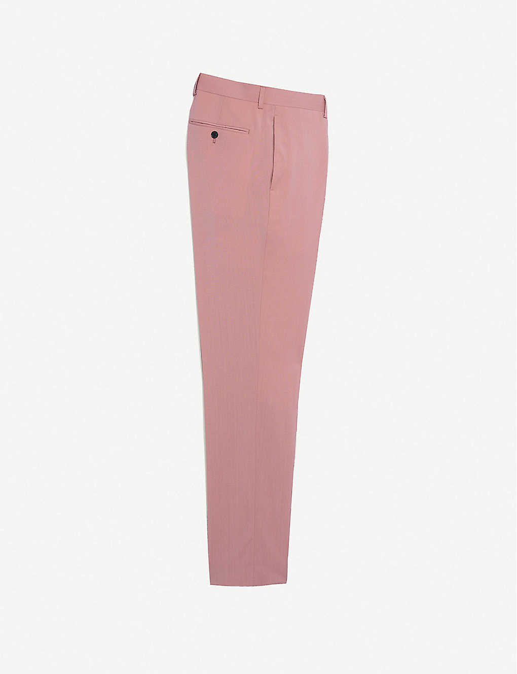 SANDRO: Mid-rise wool trousers