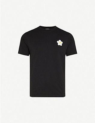SANDRO: Daisy cotton T-shirt