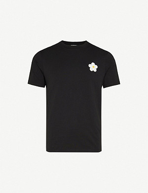 SANDRO Daisy cotton T-shirt