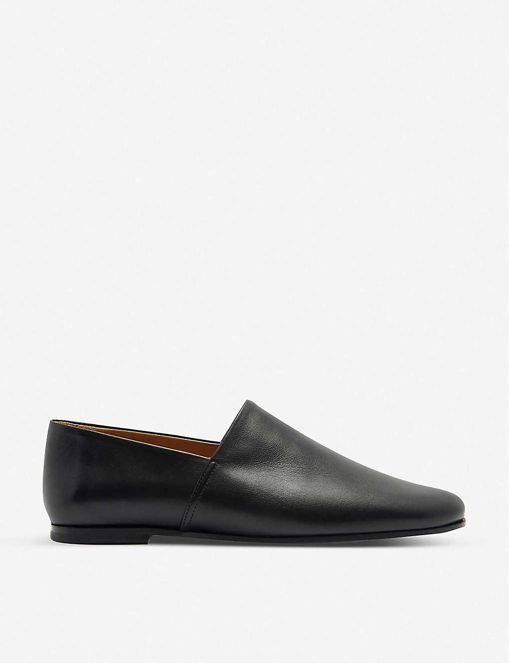 SANDRO: Leather slip-on shoes