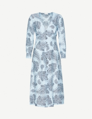 SANDRO Beane jacquard dress