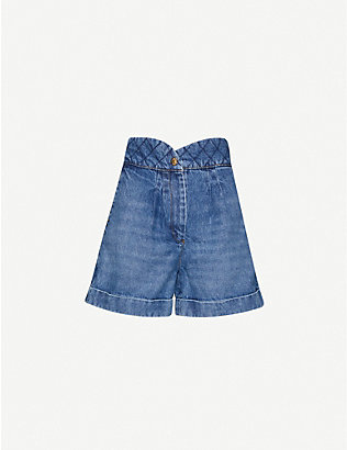 SANDRO: Ness denim shorts