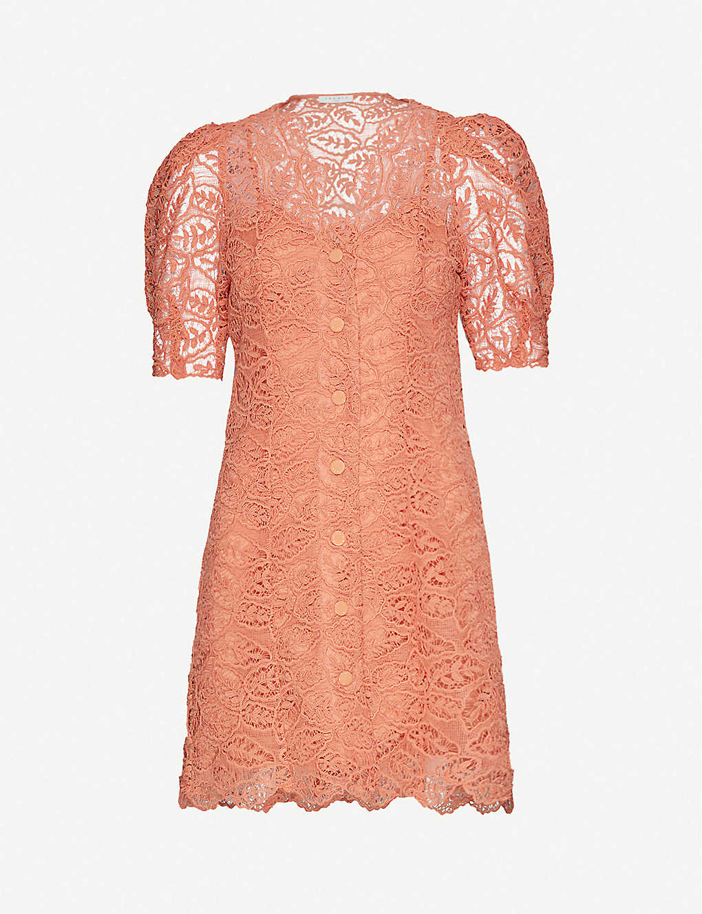 SANDRO: Livan lace mini dress