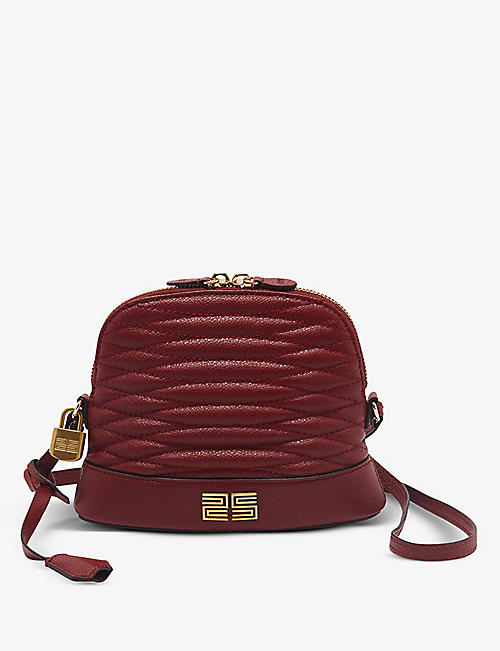 SANDRO: Thelma leather shoulder bag