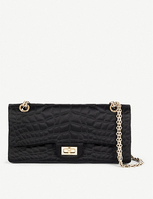 VESTIAIRE COLLECTIVE Chanel 2.55 quilted satin handbag