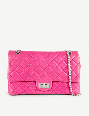 VESTIAIRE COLLECTIVE Chanel 2.55 quilted leather handbag