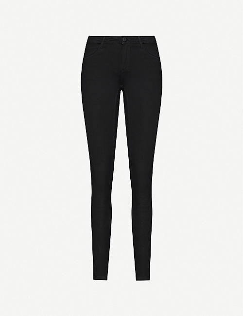 NOISY MAY: Shaper skinny-fit mid-rise stretch-denim jeans