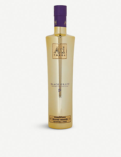 VODKA: Au Vodka Black Grapes vodka 700ml